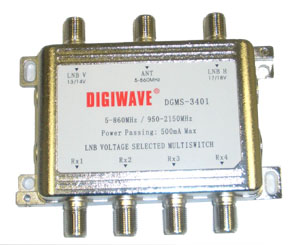 Digiwave 3X4 Multiswitch